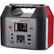 FIVKLEMNZ Portable Power Station,180Wh Solar Generator Backup Camping Lithium Battery Pack with 110V/150W(Peak 200W) AC Outlet,SOS Flashlights for Outdoors Mini Travel Hunting Emergency