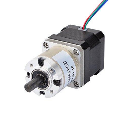 STEPPERONLINE 27:1 Planetengetriebe Getriebe Nema 17 Getriebemotor 1.68A Schrittmotor für Bastelarbeiten CNC