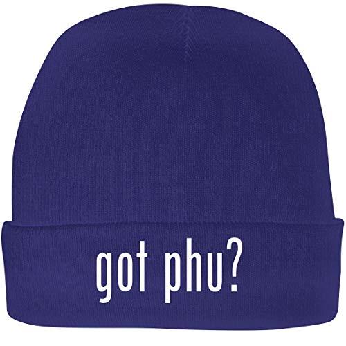 Shirt Me Up got PHU? - A Nice Beanie Cap, Blue, OSFA