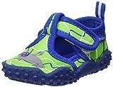 Playshoes Zapatillas de Playa con protección UV Foca, Zapatos de Agua Unisex Niños, Azul (Blau/Gruen 791), 20/21 EU