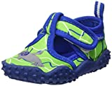 Playshoes Unisex-Kinder Badeschuhe mit UV-Schutz Robbe Aqua Schuhe, Grün (Blau/Grün 791), 22/23 EU