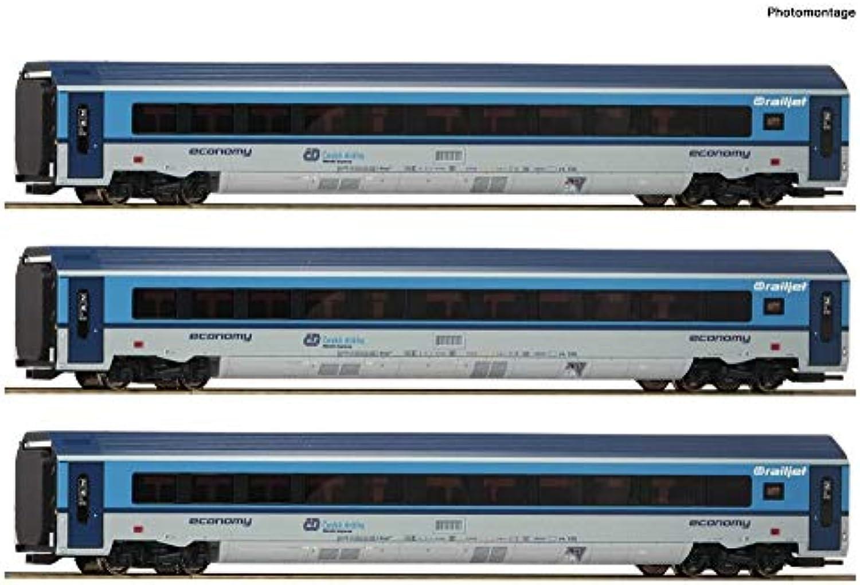 Roco 74139 3-TLG. Set  Railjet, CD