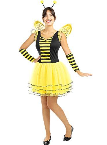 Funidelia | Disfraz de Abeja para Mujer Talla M ▶ Animales, Insectos, Bicho, Abeja - Multicolor