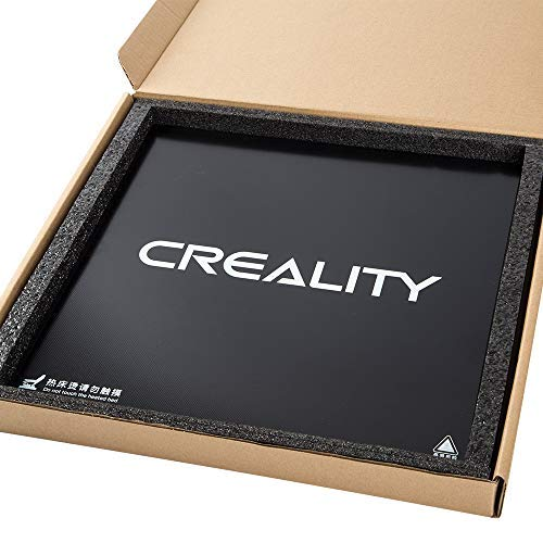 Plate-forme de surface de construction en verre d'imprimante 3D originale de 320 * 310mm pour le foyer de Creality CR-10 V2, CR-10 V3, CR-10S Pro et CR-X Pro