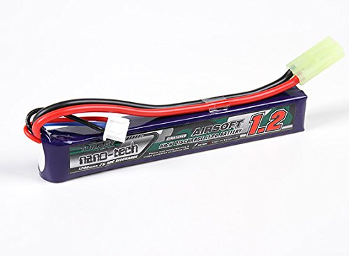 HobbyKing - Turnigy nano-tech 1200mAh 2S 25-50C Lipo AIRSOFT Pack - DIY Maker Booole