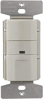 Greengate OSW-P-010-LA Occupancy, Multi Volt, Light Almond 0-10V Occ Sensor Dimmer, Multivolt, Ltalmd