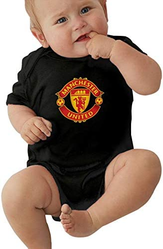 Sushelp Manch Ester Uni Ted Baby Jersey Bodysuits Unisex Short Sleeve Sport Jersey 0 24 Months product image