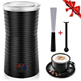 Montalatte Elettrico Automatico Professionale, Schiumalatte con 4 Modalità per Latte, Scaldalatte Controllo della Temperatura, per Caffè, Cappucino, Macchiato, Cioccolata Calda ecc.