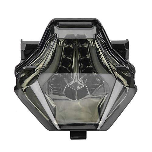 Conjuntos de luces traseras de motocicleta, luz LED de señal de giro para...