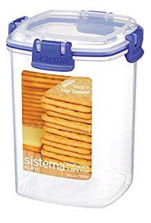 Sistema Klip It Collection Cracker Food Storage Container, Medium, 30 Ounce/ 3.75 Cup (B005D6Y2Z0) | Amazon price tracker / tracking, Amazon price history charts, Amazon price watches, Amazon price drop alerts