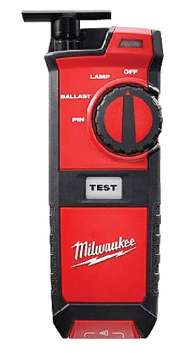 Milwaukee Fluorescent Lighting Tester