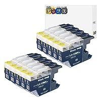 インクのチップス ブラザー用 LC12BK 互換インク 顔料ブラック 10本セット