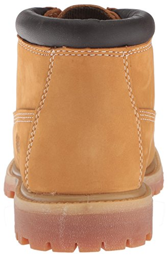 Timberland Women's Nellie Double Waterproof Ankle Boot,Wheat Yellow,5 M US