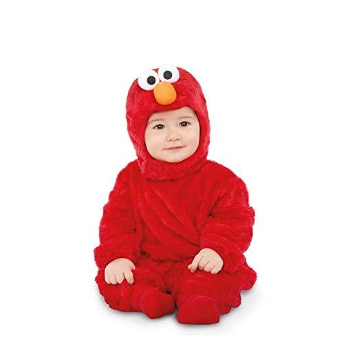 Barrio Sésamo Disfraz de Elmo Rojo para bebé