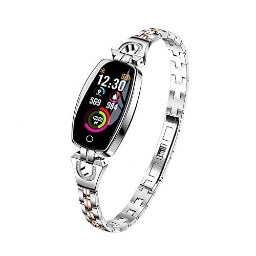 KID LOVE Smart-Armbanduhr Frauen,wasserdichte Frauen Digitaluhr,Sport Fitness Tracker Für Android Phones Samsung Huawei-b