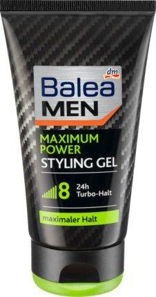 Balea New arrival MEN Mail order Styling Gel maximum power 150 - German ml of pack 2
