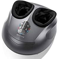 Marnur Shiatsu Electric Heat Kneading Foot Massager with Rolling and Air Compression