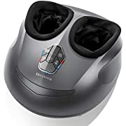 MARNUR Foot Massager Machine Shiatsu Foot Massager with Kneading Air Pressure & Heat at Home or Office for Plantar Fasciitis and Foot Relaxation Adult Elderly