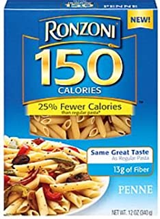 Ronzoni Penne 150 Calories - Fewer Calories Pasta (2 Pack)