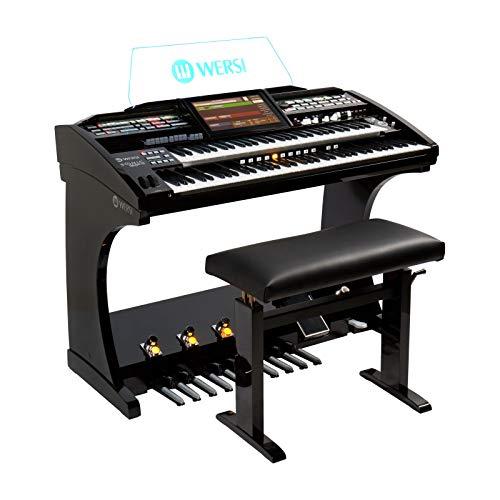 Orgel SONIC OAX600 Schwarz Metallic inkl. Sitzbank