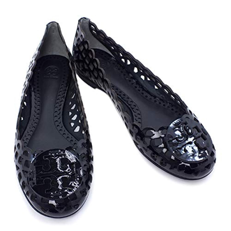 [トリーバーチ] 靴 フラットシューズ パンプス エナメル ブラック (51138328 001 BLACK) [並行輸入品]