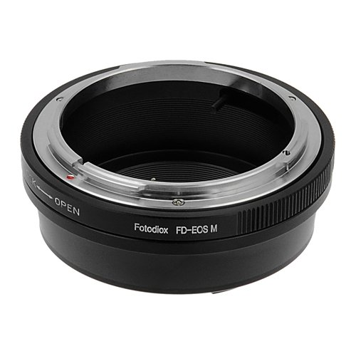 Fotodiox Lens Mount Adapter Compatible with Canon FD and FL Lenses on Canon EOS M EF-M Mount Cameras