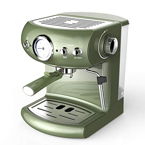 Automatic Coffee Machine Cappuccino Semi-automatic Espresso Machine,19bar High Pressure Retro Style Pump Type Coffee - Household Commercial Steam Type Milk Foam Strong Steam