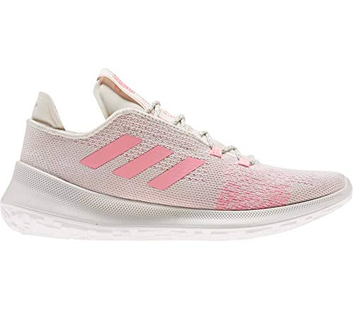 adidas SENSEBOUNCE + Ace W, Zapatillas de Running para Mujer, Alumina/Glory Pink/FTWR White