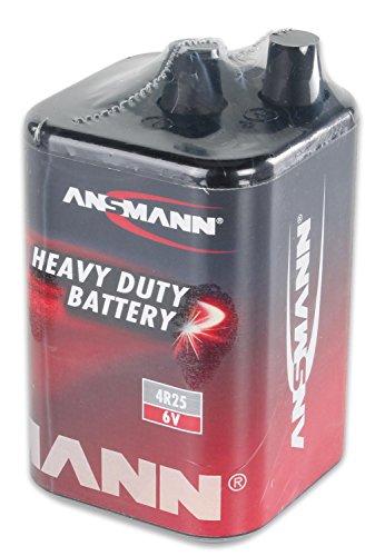 Trockenbatterie, Blockbatterie Typ 4R25, 6 V, 7-9 Ah