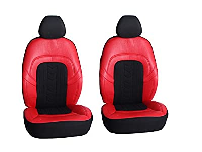 AUTONISE Universal fit Classic Sport Bucket seat Cover (Fit Most Car,Truck, SUV, or Van with headrest) Airbag Compatible