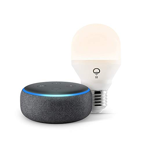 Echo Dot (3rd Gen) with LIFX Smart Bulb Now $18.99 (Was $59.98)