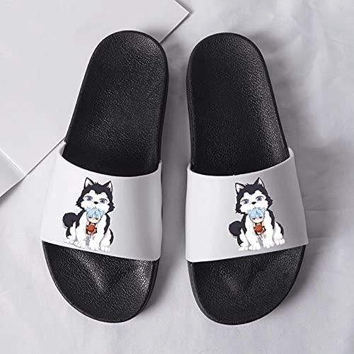 SZXZS Baño Sandalia Anime Dibujos Animados Baloncesto Playa De Arena Zapatillas Verano Baño Zapatillas Sandalias Piscinas Zapatos De Ducha Interiores Antideslizantes Zapatillas-001_38