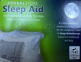 Sleep Aid Helps Sleep Insomnia Remedy 48 Tablets Sleep