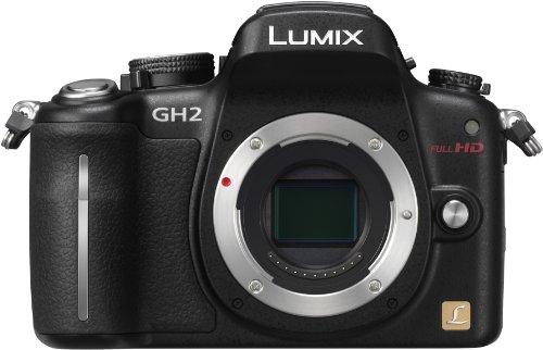 パナソニック デジタル一眼カメラ ルミックス GH2 ボディ 1605万画素 ブラック DMC-GH2-K