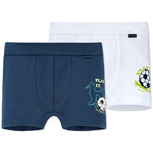 Schiesser Jungen Multipack 2pack Hip Shorts Slip, Mehrfarbig (Sortiert 1 901), 116 (2er Pack)