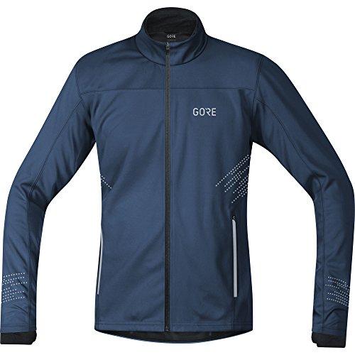 GORE Wear Winddichte Herren Lauf-Jacke, R5 GORE WINDSTOPPER Jacket, L, Dunkelblau, 100153
