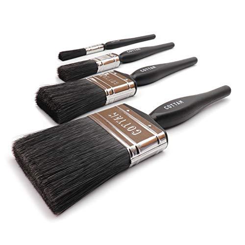 Cottam Coatings Paint Brush Collection, misure 0,5', 1', 2' e 3'