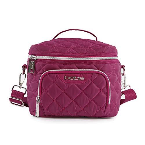 Bebe Gigi wiederverwendbar Isolierte Lunch Box Tasche Casual Tagesrucksack, wein (rosa) - BE-LB-28-WN