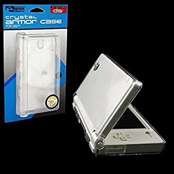 KMD Crystal Armor Case Compatible with Nintendo DSi Clear