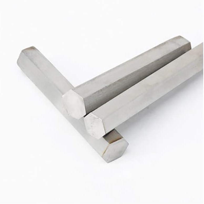 12mm,H:10mm Length 600mm H:10mm Good Processability Wzwwjs Hexagonal Solid Aluminum Rod