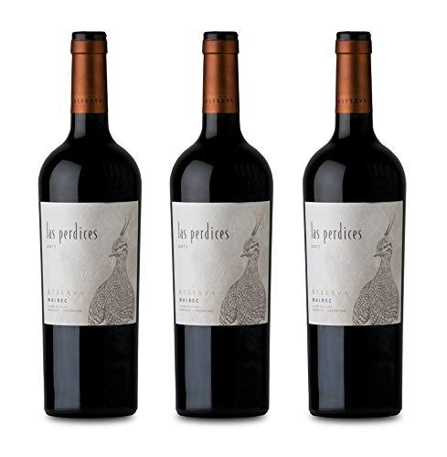 Las Perdices - 2015 - Reserva Malbec - Mendoza/Argentinien - Rotwein Trocken (3 x 0.75 l)