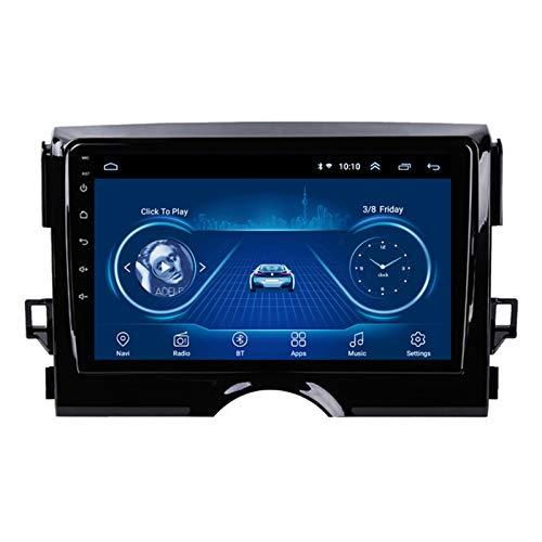 9 Pulgadas Android 10.0 Radio Stereo Coche Navegación GPS HD Pantalla Táctil Ser Aplicable Para Toyota Reiz (2010-2018) Apoyo Cámara De Visión Trasera WIFI FM Mirror Link SWC USB Manos Libres,2G+32G