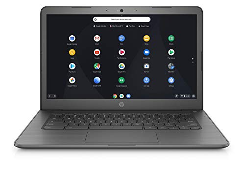 HP Chromebook 14-db0003na 14-Inch Laptop - (Grey) (AMD Dual Core A4, 4 GB RAM, 32 GB eMMC, 100 GB Google Drive Storage for 2 Years, AMD Radeon R3 Graphics, Chrome OS)