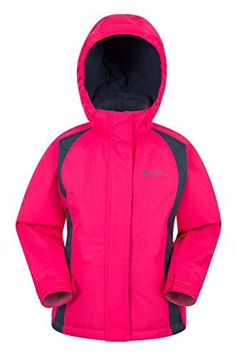 Mountain Warehouse Honey Kids Ski Jacket - Winter Snow Coat- Skiing Dark Pink 2T-3T