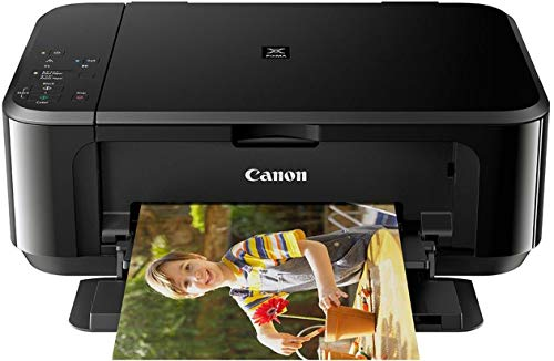 Canon Pixma MG3670 All-in-One Inkjet Wireless Printer (Black)