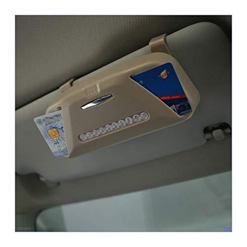 FENGFENG Sun Can Gafas de Coche Caja Organizador Caja Box Gafas de Sol Soporte Almacenamiento Pocke Fit para Renault Koleos Fit para Cruze Fit para Audi Q3 Fit para BMW X1 X3 F25