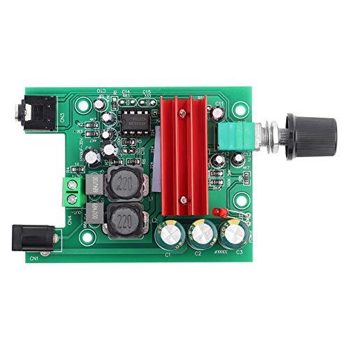 Sxhlseller TPA3116 D2 8-25VDC 100W Mono Power Subwoofer Módulo de Placa de Amplificador Digital Componentes electrónicos con NE5532 OPAMP