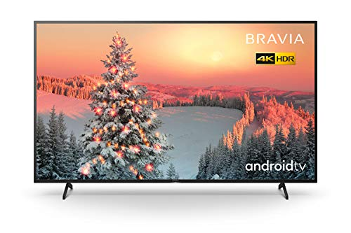 Sony BRAVIA KD75XH80 - 75 Inch - LED - 4K Ultra HD - High Dynamic Range (HDR) - Smart TV (Android TV) with Voice Remote (Black, 2020 Model)