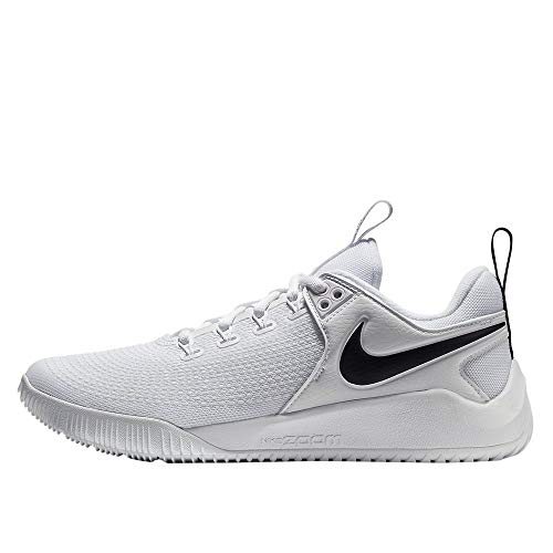 NIKE Women's Zoom HyperAce 2 Training Shoe White/Black Size 6 M US