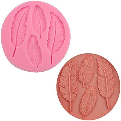 4 Max 80% OFF Feather Bird Wings Designs 3D Genuine Cake F Soap Chocolate Silicone